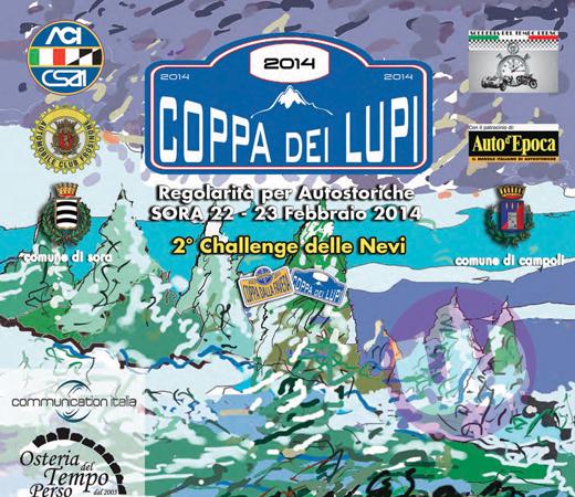 SORA WEB - 520 - PRONTA LA COPPA DEI LUPI 2014 APPUNTAMENTO IL 22 E IL 23 FEBBRAIO