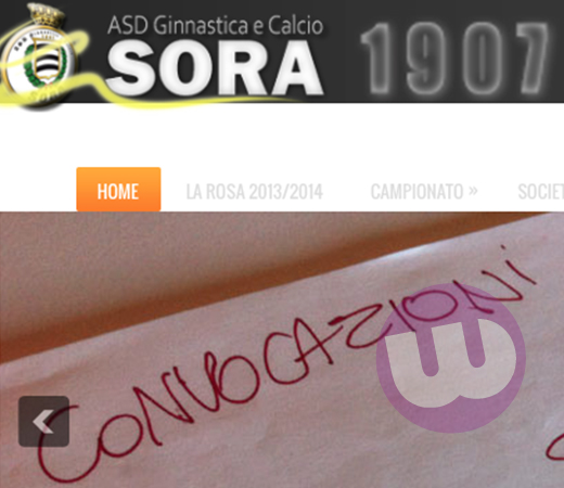 SORA WEB - 520 - SORA CALCIO I CONVOCATI