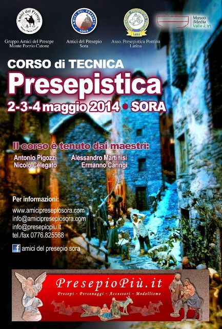 SORA WEB - 779 - Corso di arte Presepistica - Locandina