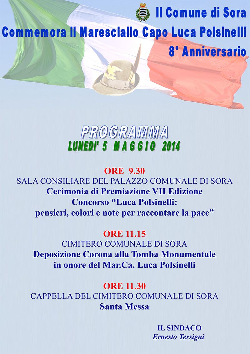 SORA WEB - 779 - Invito Luca Polsinelli - Locandina