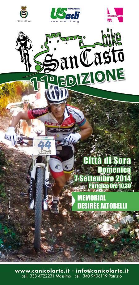 SORA WEB - 779 - San Casto Bike percorso invertito - Volantino