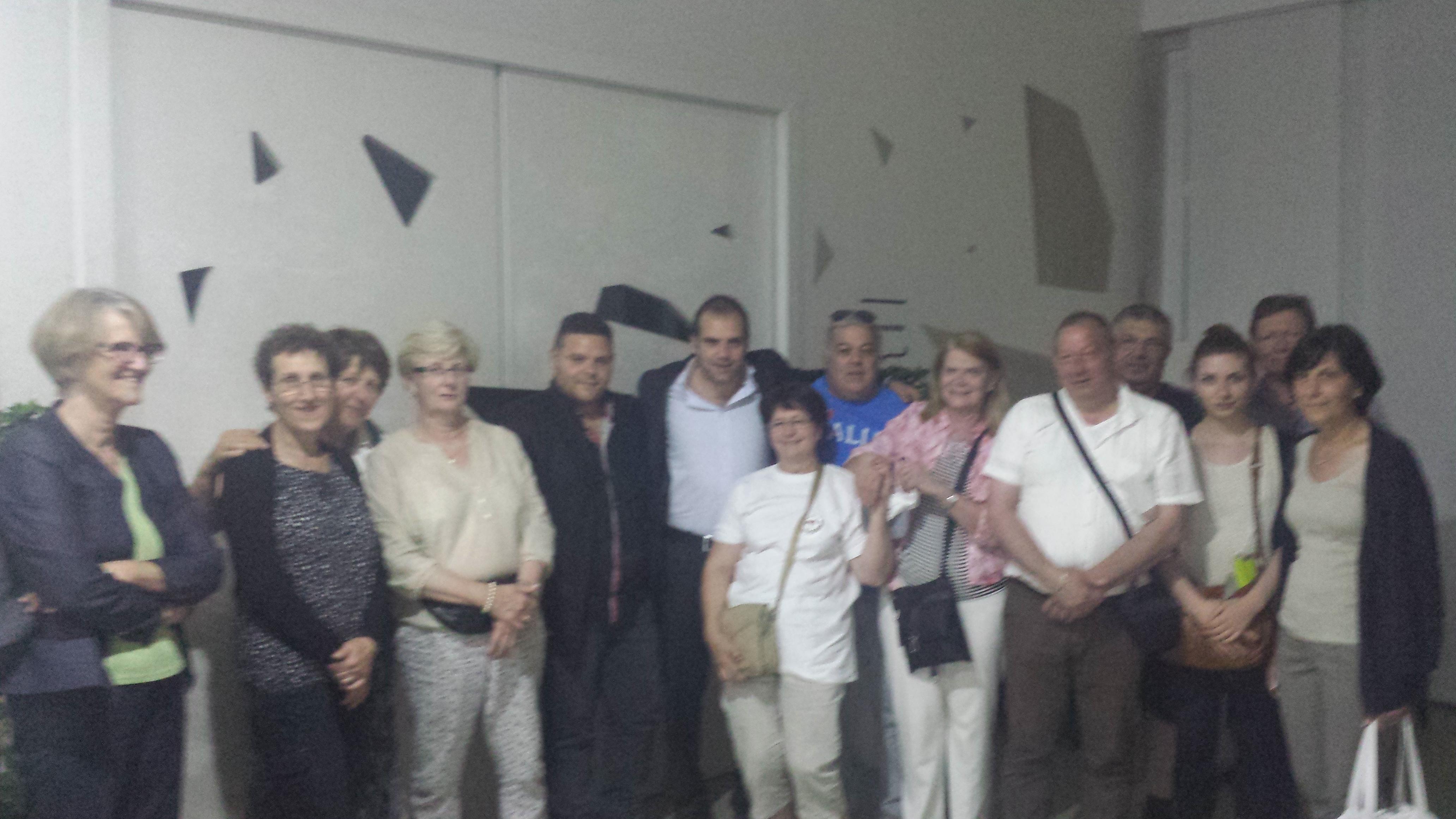 Delegazione a Napoli
