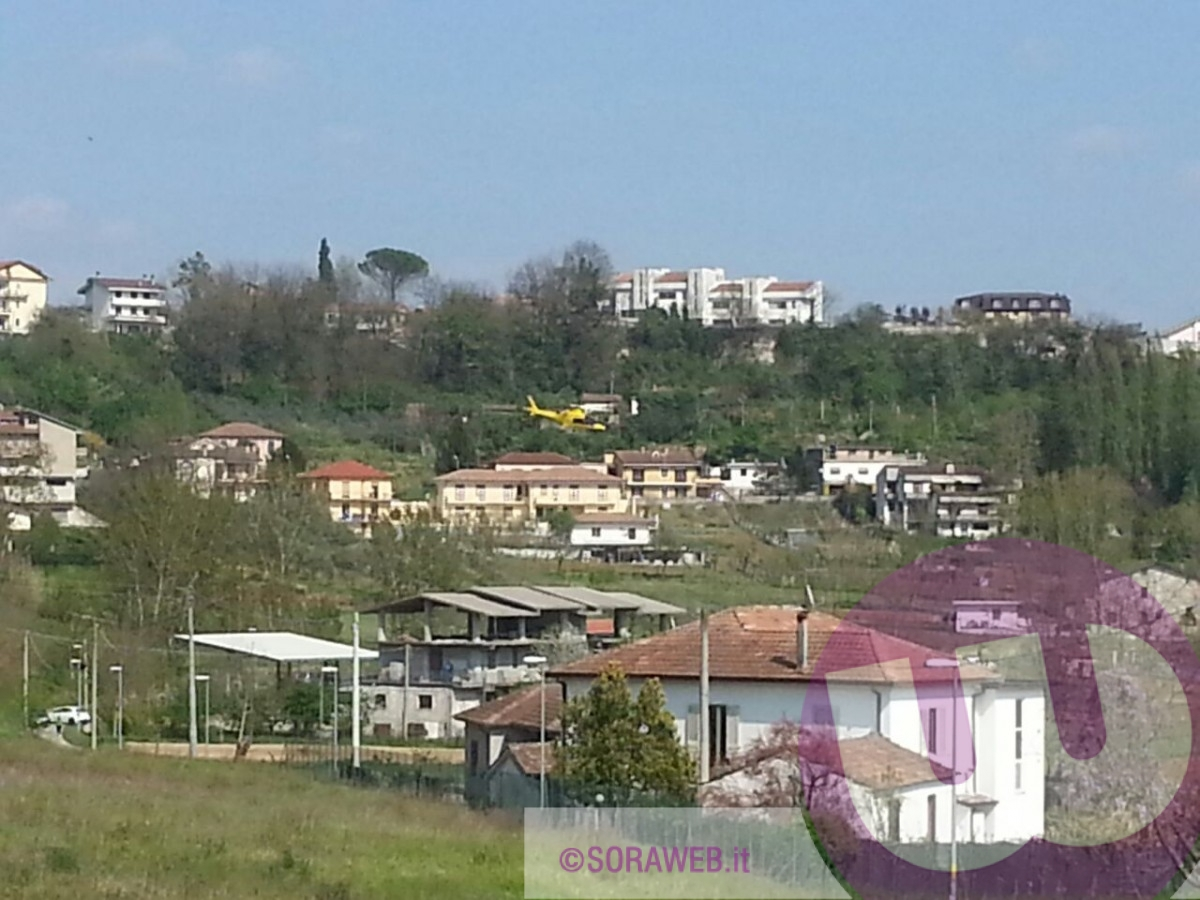 Eliambulanza a Castelliri