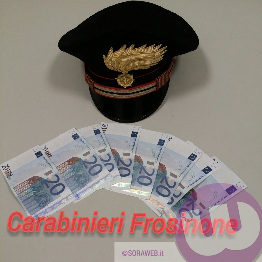 Carabinieri - soldi falsi