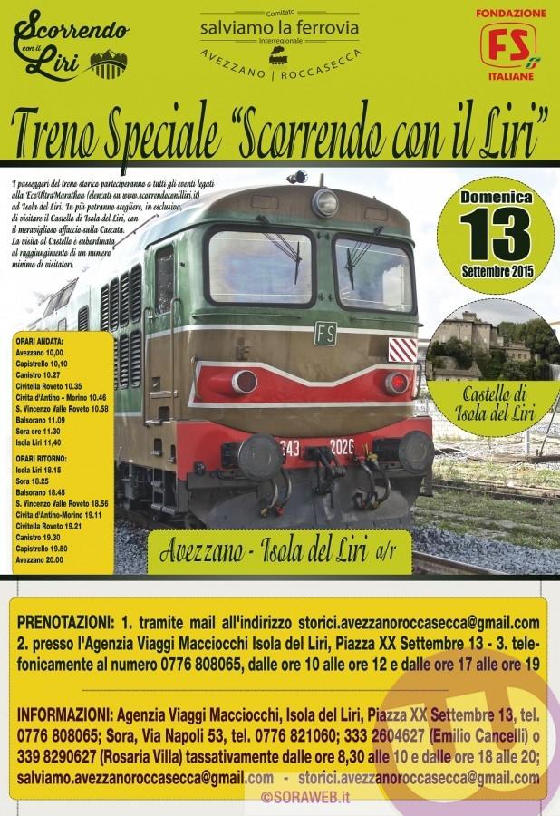 Locandina 2015 Treno Storico 1