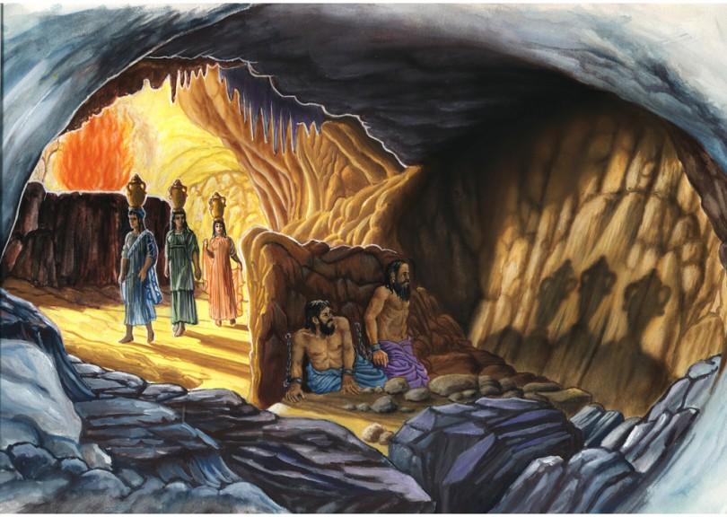 Risultati immagini per mito caverna platone