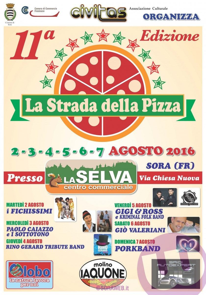 MANIFESTO PIZZA 2016