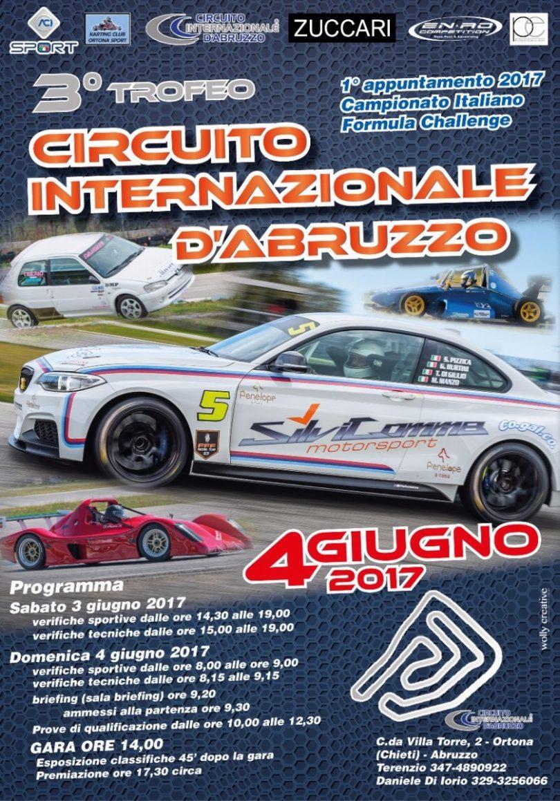 Circuito Ortona : Campionato italiano formula challenge aci sport u circuito