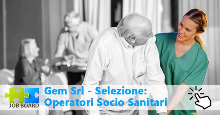 GEM Srl - Operatore Socio Sanitari