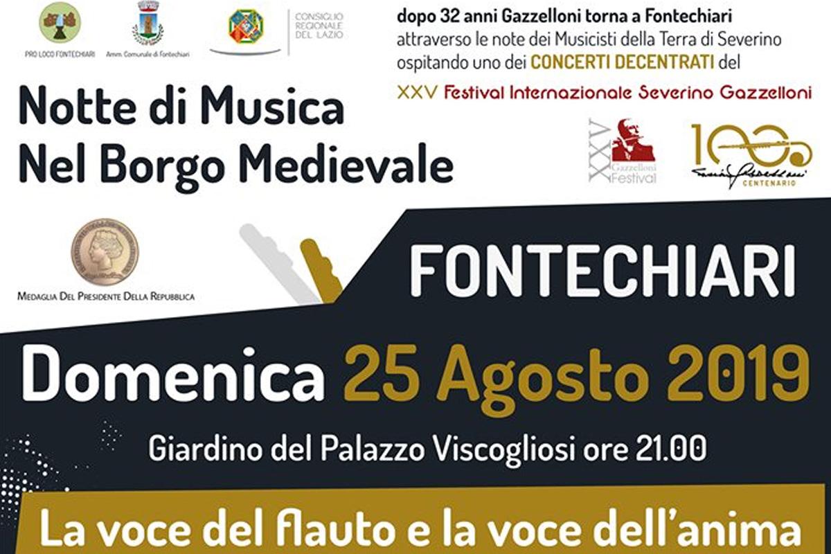 Pro Loco Fontechiari - La voce del Flauto la voce dell'Anima