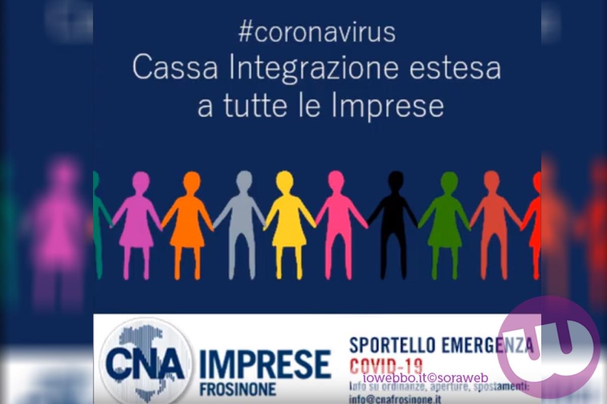 """Impresa In Un Giorno Frosinone cna imrese frosinone – il decerto """"cura italia"""""""